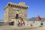 French Tower in Castle of St Peter  Bodrum  Anatolia  Turkey  Asia Minor  Eurasia