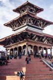 Maju Deval Temple  Durbar Square  UNESCO World Heritage Site  Kathmandu  Nepal  Asia