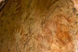 Hand Stencils at Split Rock Site  Mutawintji National Park