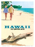 Hawaii - Fly United Jets - United Air Lines