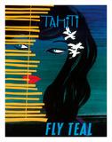 Tahiti - Fly Teal (Tasman Empire Airways Limited)