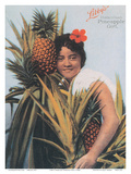 Libby's Hawaiian Pineapple Girl