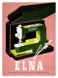 Elna - La Machine à Coudre de Ménage Idéale (Elna - The Ideal Household Sewing Machine)