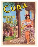 Cuba - Holiday Isle of the Tropics - Cuban Dancer with Maracas