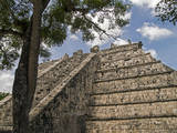 The High Priest's Temple  El Osario  in the Ancient City of Chichen Itza