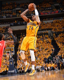 2014 NBA Playoffs Game 7: May 3  Atlanta Hawks vs Indiana Pacers - Paul George