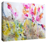 Summer Pink Gallery-Wrapped Canvas