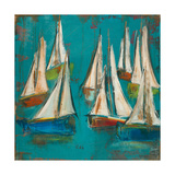 Sailboats Aqua