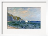 Cliffs and Sailboats at Pourville