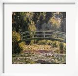 The Japanese Footbridge  Giverny
