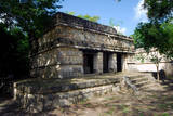 \Facade of the Residential Complex About 800 Meters from the Chichen Itza Archeological Site