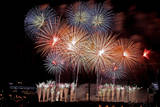 Team Malaysia Displays it's Fireworks over Putrajaya  Outside Kuala Lumpur  Malaysia