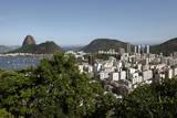 A General View over Guanabara Bay Towards the Sugarloaf Mountain in Rio De Janeiro  Brazil
