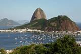 A View of Guanabara Bay Towards the Sugarloaf Mountaini N Rio De Janeiro  Brazil