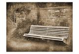 Park Bench Sepia 2