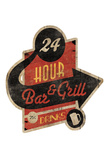 Bar Grill Cut Out