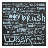 Bathroom Words B1