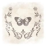 Stencil Butterfly 1