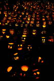 Thousands of Carved Pumpkins for Haloween