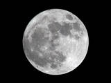 View of a Full Perigee Moon over Manila