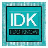 IDK bordered