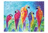 Parrot Parade Blue