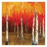 Golden Birch Trees 3