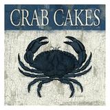Crab cakes blue