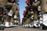 New Recruits of the Indian Border Security Force (Bsf) Parade in Srinagar