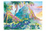 St Lucia Rainbow Palette