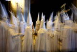 View of the Procession Called 'La Borriquilla' (Little Donkey) are Seen at the Cathedral of Seville