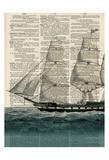 Ship 1 Reproduction d'art par Tina Carlson