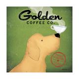 Golden Coffee Co. Reproduction d'art par Ryan Fowler