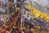 Colorful Flags  Bhutan
