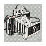 Vintage Analog Camera Reproduction d'art par Michael Mullan