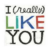 I Really Like You Giclée premium par Michael Mullan