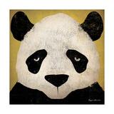 Panda Giclée premium par Ryan Fowler