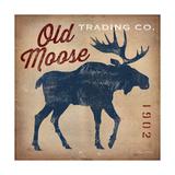 Old Moose Trading Co. Reproduction d'art par Ryan Fowler