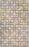 Artist Studio Geometric Rug - Ivory/Gray 5' x 8'