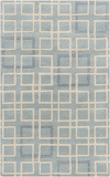 Artist Studio Geometric Rug - Sterling Blue 5' x 8'