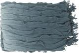 Toya Throw - Blue Slate/Pistachio
