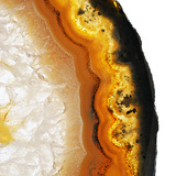 Gamboge Agate A Papier Photo