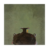 Vase vert Giclée par Susan Gillette