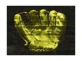 Baseball Glove Yellow