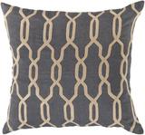 Gates Trellis Poly Fill Pillow - Grey