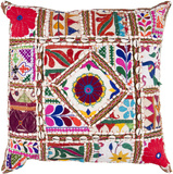 Karma Pillow Poly Fill - Boho Red
