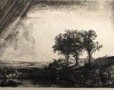 Le Paysage aux Trois Arbres (B212)