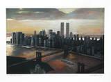 Manhattan View  Twilight