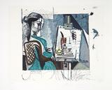 Femme Dans L'Atelier  J-129