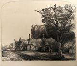 Le Paysage aux Trois Chaumieres (B217)